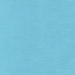 Iron-on light blue cotton