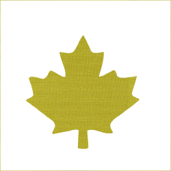 Iron-on Maple leaf