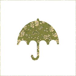 Iron-on Umbrella Liberty