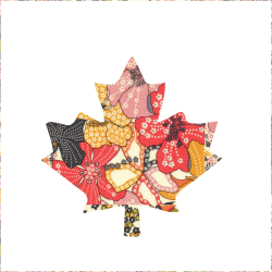 Iron-on Maple leaf Liberty