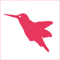 Iron-on bird 4