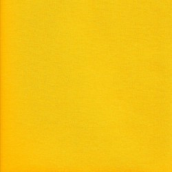 Iron-on yellow cotton