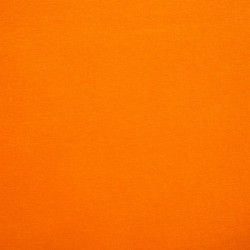 Coton uni orange thermocollant