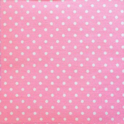 Iron-on light pink cotton