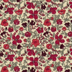Iron-on Liberty Meadow red