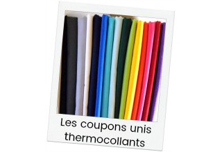 Iron-on solids colours coupons