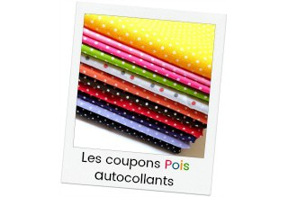 Self adhesif mini dots cotton sheets